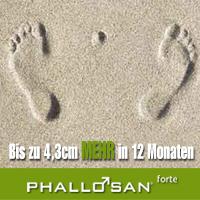 Mit Phallosan bis zu 4 cm in 12 Monaten
