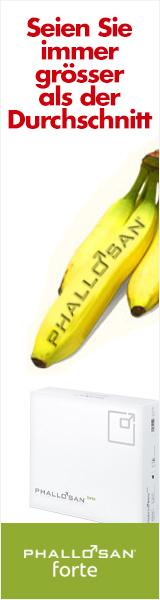 eine Banane als Symbol für einen großen Penis